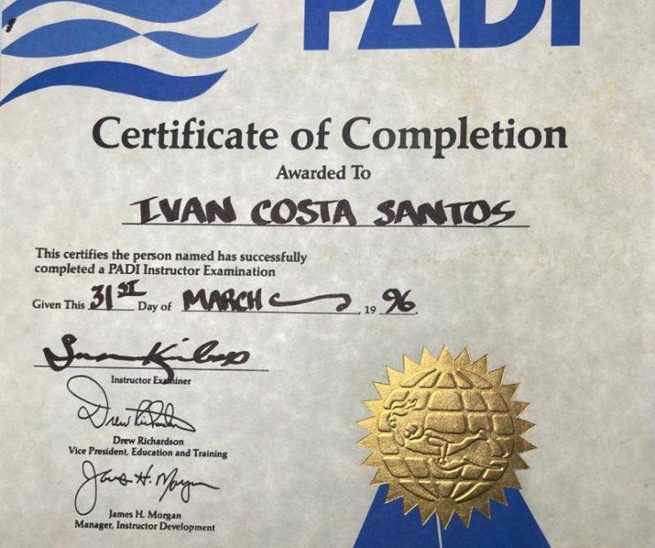 Como me tornar um instrutor de mergulho bem sucedido logo após minha certificação?